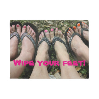 Wipe your Feet Door Matt Doormat