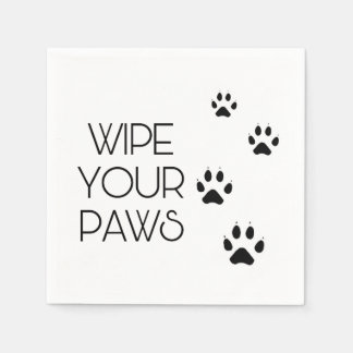 Wipe Your PAWS Disposable Napkins