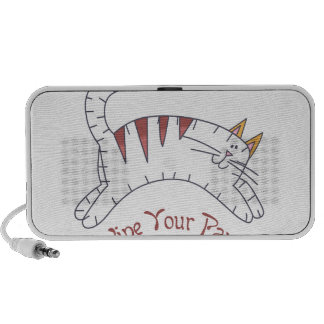 Wipe your paws mp3 speaker