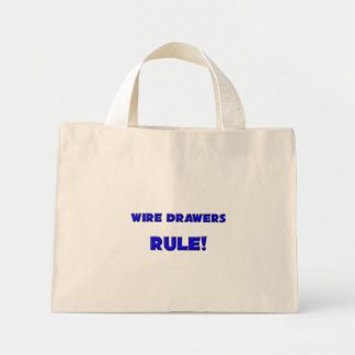 Wire Drawers Rule Canvas Bag