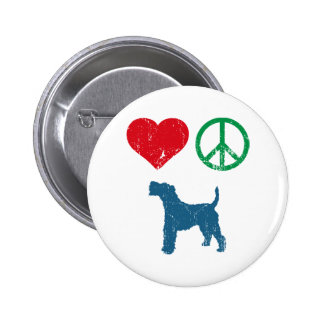 Wire Fox Terrier 6 Cm Round Badge