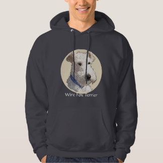 Wire Fox Terrier Art Hoodie