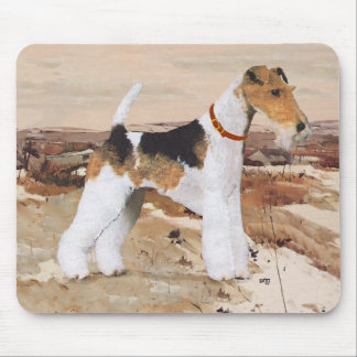 Wire Fox Terrier Autumn Mouse Mat