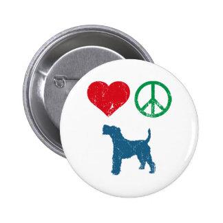 Wire Fox Terrier Pinback Buttons