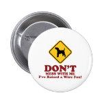 Wire Fox Terrier Badge