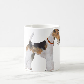 Wire Fox Terrier Basic White Mug