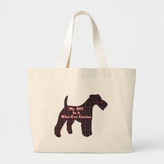 Wire Fox Terrier BFF Tote Bag