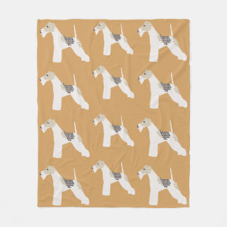 Wire Fox Terrier Blanket