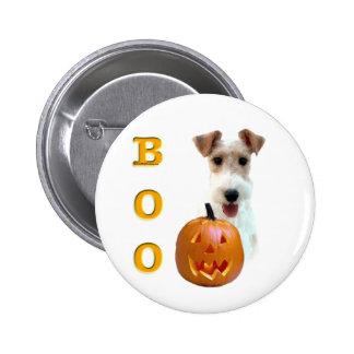 Wire Fox Terrier Boo 6 Cm Round Badge