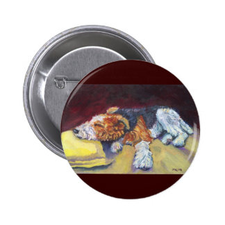 Wire Fox Terrier Button