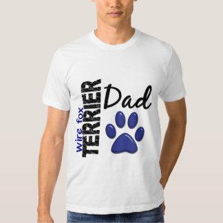 Wire Fox Terrier Dad 2 T-shirt