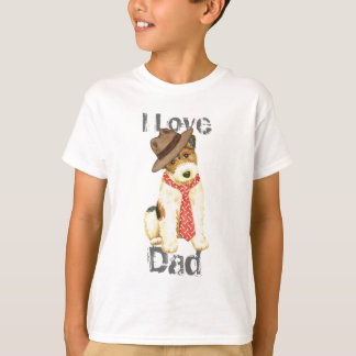 Wire Fox Terrier Dad T-Shirt