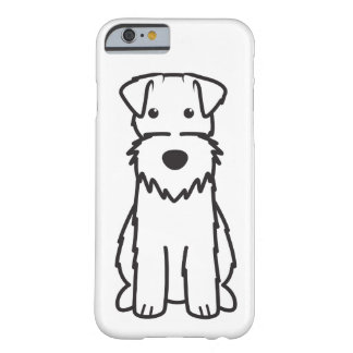Wire Fox Terrier Dog Cartoon Barely There iPhone 6 Case