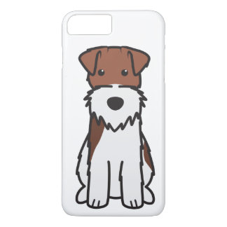 Wire Fox Terrier Dog Cartoon iPhone 8 Plus/7 Plus Case