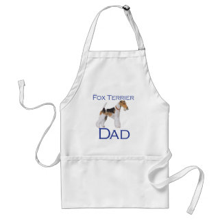 Wire Fox Terrier Father's Day Standard Apron