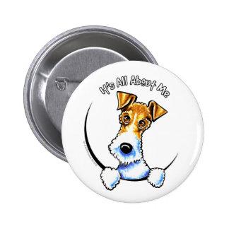 Wire Fox Terrier IAAM 6 Cm Round Badge