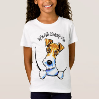 Wire Fox Terrier Its All About Me IAAM T-Shirt