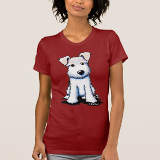 Wire Fox Terrier Ladies Petite T-Shirt