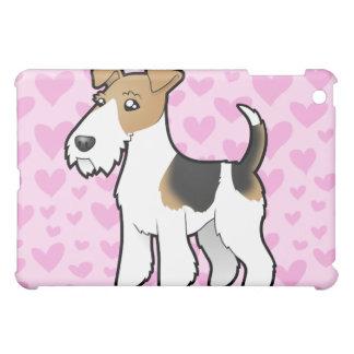 Wire Fox Terrier Love Case For The iPad Mini