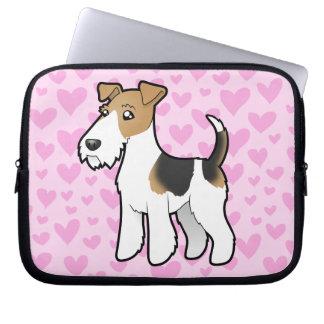 Wire Fox Terrier Love Laptop Sleeve
