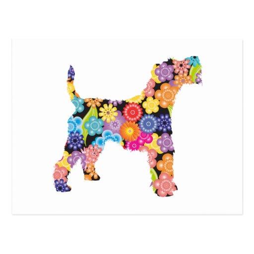 Wire Fox Terrier Post Card