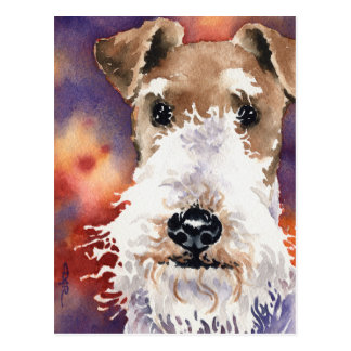 Wire Fox Terrier Postcard