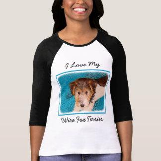 Wire Fox Terrier Puppy T-Shirt