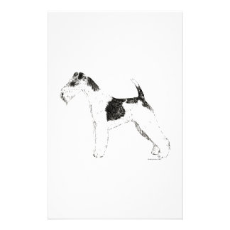 Wire Fox Terrier Stationery