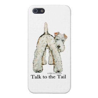 Wire Fox Terrier Tail Cover For iPhone 5/5S