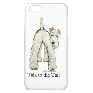 Wire Fox Terrier Tail iPhone 5C Case