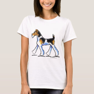 Wire Fox Terrier Trot T-Shirt