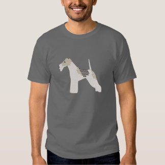 Wire Fox Terriers silhouettes Tshirt