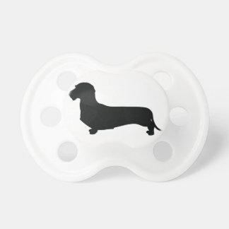 Wire Hair Dachshund Pacifier