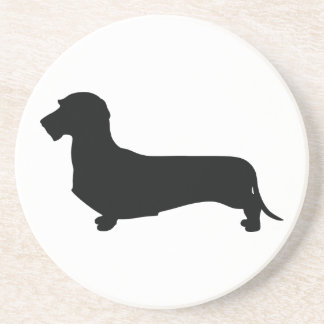Wire Hair Dachshund Sandstone Coaster