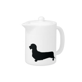 Wire Hair Dachshund Tea Pot