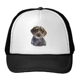 Wire Haired Pointer - head portrait Mesh Hat
