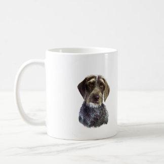 Wire Haired Pointer - head portrait Mug