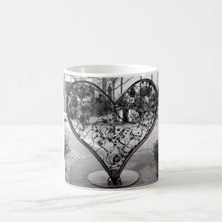 Wire Heart Coffee Mug