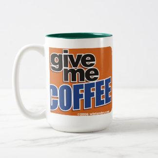 Wired Coffee 1 Two-Tone Coffee Mug