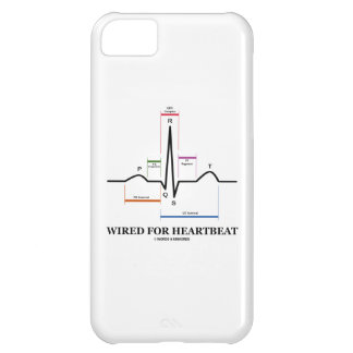 Wired For Heartbeat (Electrocardiogram) iPhone 5C Case