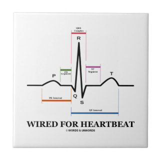 Wired For Heartbeat Electrocardiogram Tiles