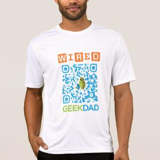 Wired Geek Dad QR Code T-Shirt