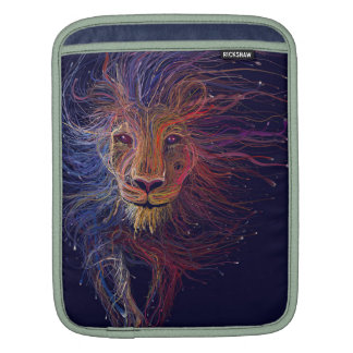Wired Lion iPad Sleeves