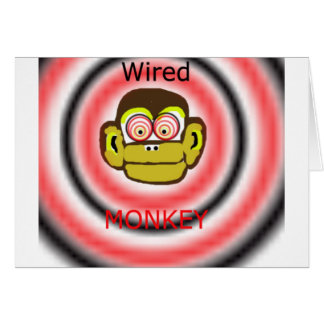 Wired Monkey Card