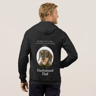 Wirehaired Dachshund Dad Hoodie