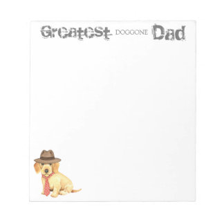 Wirehaired Dachshund Dad Notepad