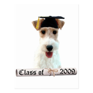 Wirehaired Fox Terrier Grad 09 Post Cards