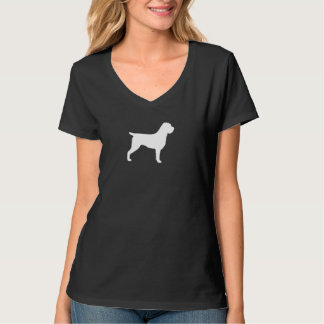 Wirehaired Pointing Griffon Silhouette T-Shirt