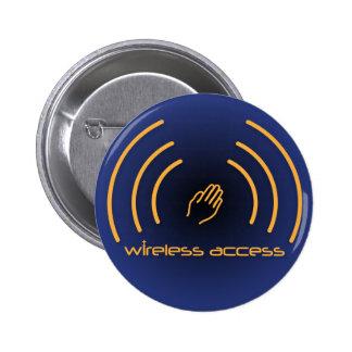 Wireless Access Christian button