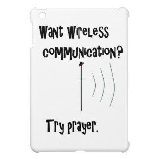 Wireless Communication Prayer iPad Mini Covers